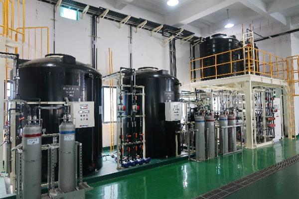 超低排水型の排水処理設備